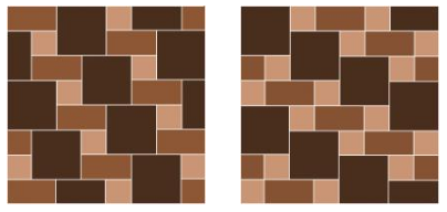 How to arrange floor tiles?