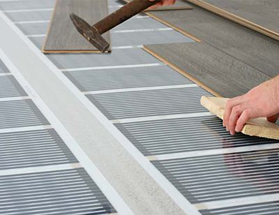 Underfloor heating foil | Wetrooms Design