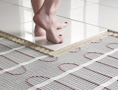 """ Underfloor heating mat 