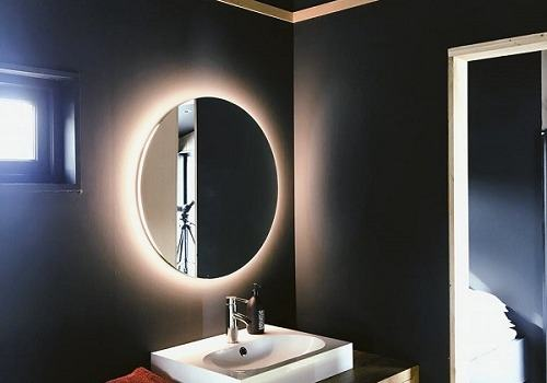 How to light a bathroom without a window?
