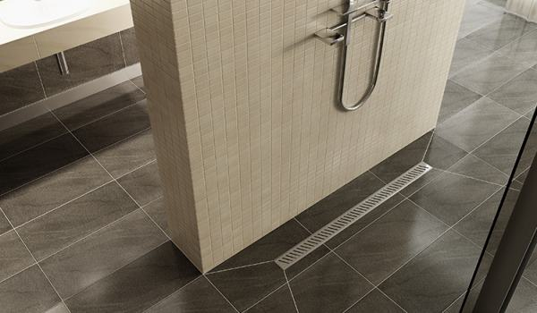 Is the linear drain easy to clean?