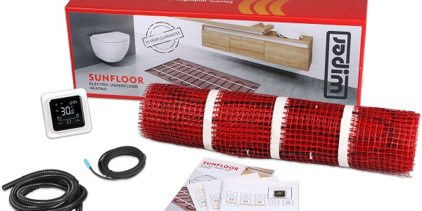 SUNFLOOR: OUR NEW ELECTRIC UNDERFLOOR HEATING