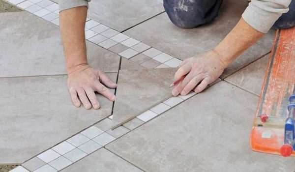 How calculate how many tiles I need for the bathroom?